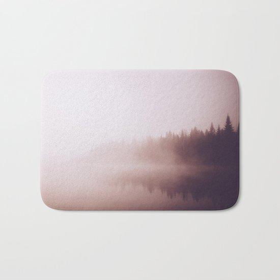 Fog #forest Bath Mat