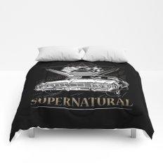 Supernatural Impala Black Comforters