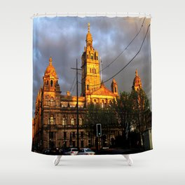 Glasgow City Chambers 1 Shower Curtain