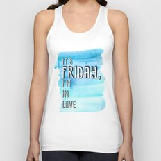 Friday I'm in love Unisex Tank Top