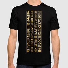 Gilded Hieroglyphs T-shirt
