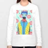 shinee Long Sleeve T-shirts featuring Make Me Colourful by Saif Chowdhury