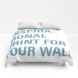 Inspiration. Comforters