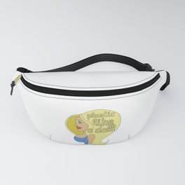 Operation plastic surgery like a doll doctor medical new tshirt Fanny Pack