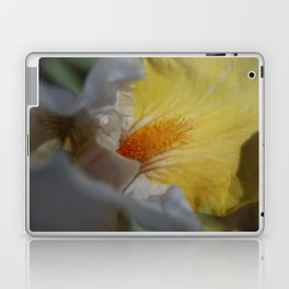 yellow iris Laptop & iPad Skin