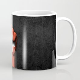 Swiss Flag on a Raised Clenched Fist Coffee Mug