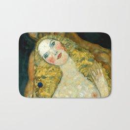 "Gustav Klimt ""Adam and Eve"" Bath Mat"