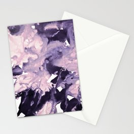inkblot marble 9 Stationery Cards