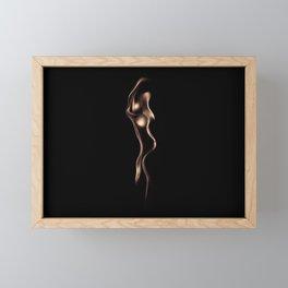 Fire Women Framed Mini Art Print