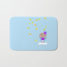 Ananda The Fairy Baby - Butterflies Bath Mat