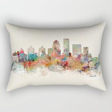 louisville kentucky skyline Rectangular Pillow