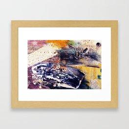 Beautiful watercolor pattern Framed Art Print