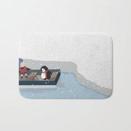 Reaching the South Pole Bath Mat
