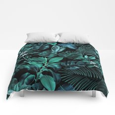 Tropical Garden Comforters
