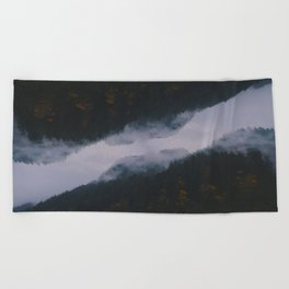 Forest Reflections II Beach Towel