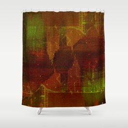 70 xrt Shower Curtain