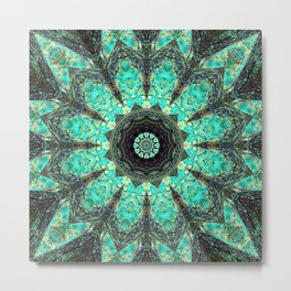 Tree mandala iv Metal Print