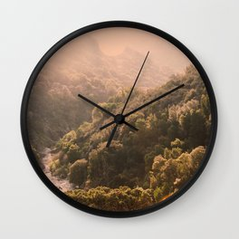Pastel Summer Wall Clock