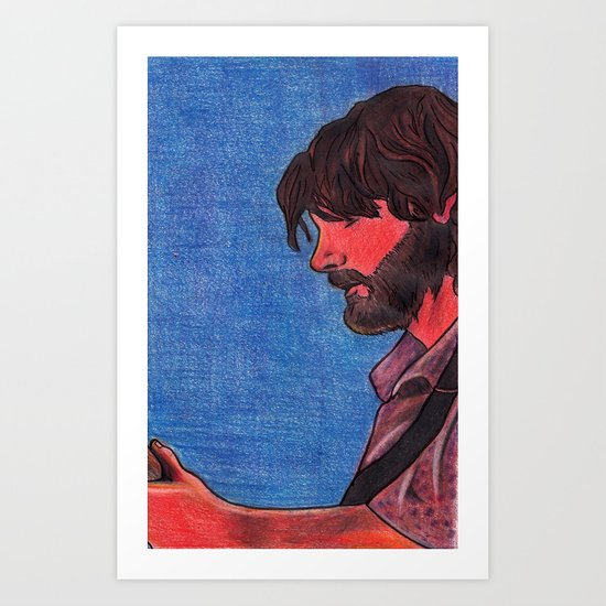 John Bell- Close Up Art Print