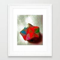 origami Framed Art Prints featuring Origami +++ by NaomYb'