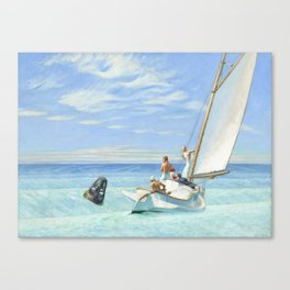 Edward Hopper Ground Swell 1939 Painting Canvas Print