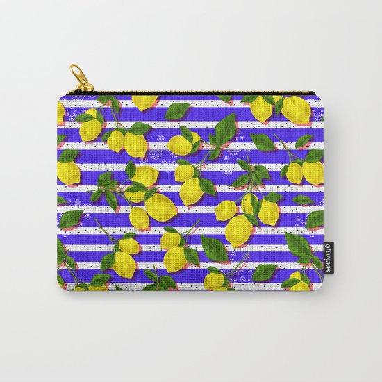 Pattern of lemons II Carry-All Pouch