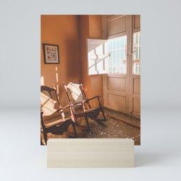 Living Room, Cuba Mini Art Print