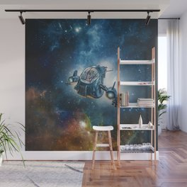 The Scout Ship Wall Mural