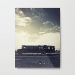 we bus Metal Print