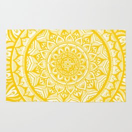 Sunflower-Yellow Rug