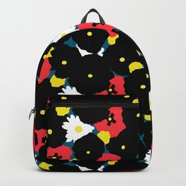 Minimalist Autumn Floral Backpack