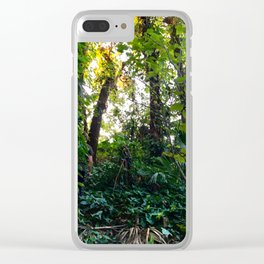 I'd follow you into the sun Clear iPhone Case