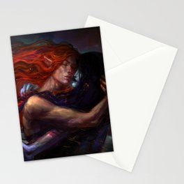 flames and ashes Stationery Cards