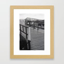 -Z- Framed Art Print