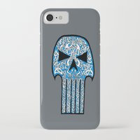 punisher iPhone & iPod Cases featuring Celtic Punisher by ronnie mcneil