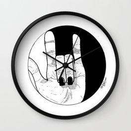 Love Conquers: Balance. Wall Clock