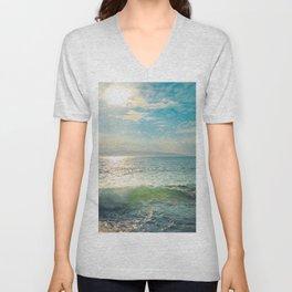 The Sea Unisex V-Neck
