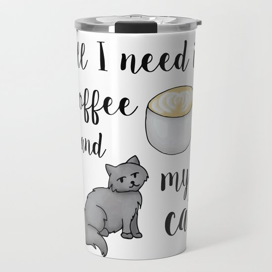 All I Need is Coffee and My Cat by julieerindesigns
