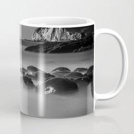 Exposed Bowling Ball Beach Northern California Coffee Mug