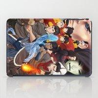 legend of korra iPad Cases featuring Legend of Korra by Meder Taab