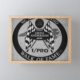 Racing Legend 32 Framed Mini Art Print