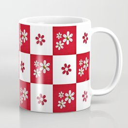 red and white beauty  Coffee Mug