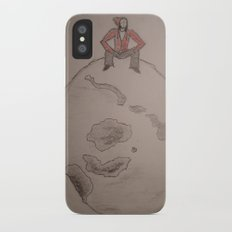Man on the moon. Slim Case iPhone X