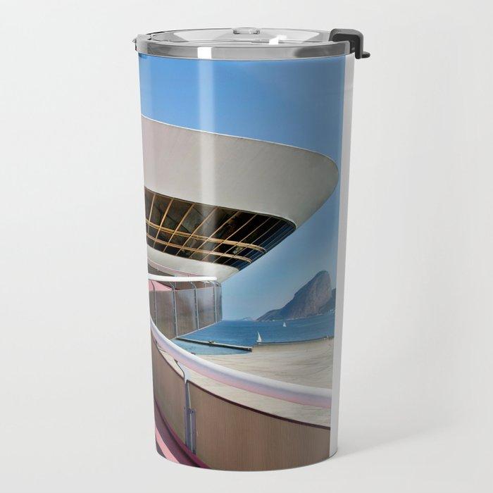 M.A.C. Contemporary Art Museum of Rio de Janeiro  Travel Mug