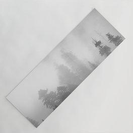 Harmony - Misty Mountain Forest Nature Photography Yoga Mat