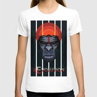 planet of the apes T-shirts featuring Dawn of the Apes by milanova