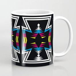 Large Native America inspired blanket print Coffee Mug