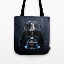 Low Poly Darth Vader Tote Bag