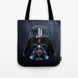 Low Poly Darth Vader Tote Bag