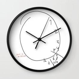 MY DESIGN Wall Clock